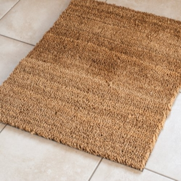 60 x 90 cm kokosmatte 24mm fu matte t rmatte natur fu abtreter aus nat rlichem kokos f r innen. Black Bedroom Furniture Sets. Home Design Ideas