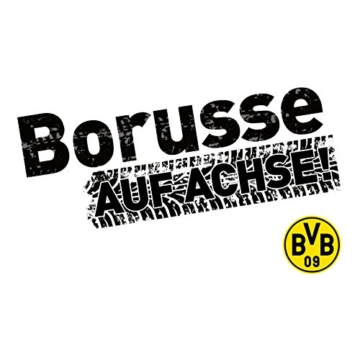 BVB-Autoaufkleber Borusse one size -