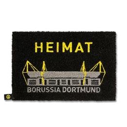 BVB Borussia Dortmund - Fussmatte Heimat - Matte Haustür -