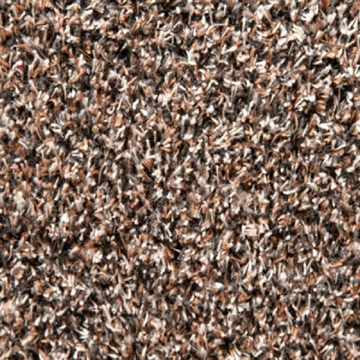 casa pura® Eingangsmatte aus 100% Baumwolle   hohe Schmutz- und Feuchtigkeitsaufnahme   beige - meliert   100x150cm -