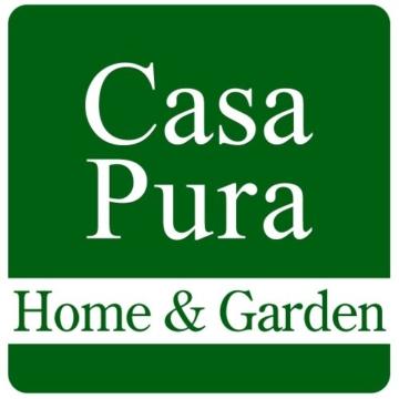casa pura® Fußmatte OPTIMUM mit Aluminiumrahmen | Teppicheinlage + Bürsten | Anthrazit | 39 x 60 cm -