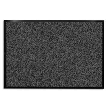 casa pura® Premium Fußmatte für Eingangsbereiche | Testnote 1,7 | Schmutzfangmatte in 8 Größen | anthrazit - grau | 120x180cm -