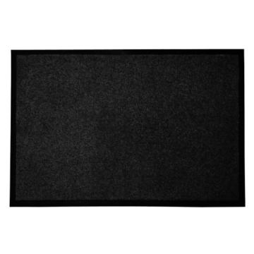 casa pura® Premium Fußmatte in attraktiver Optik | Schmutzfangmatte in 9 Größen | schwarz | 120x180cm -