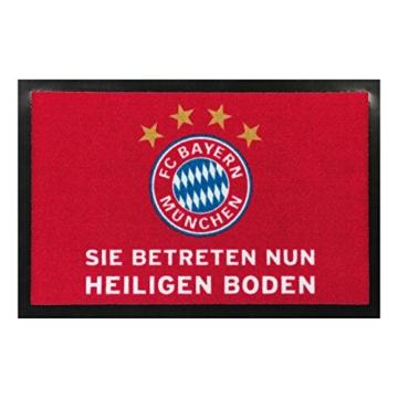 """FC Bayern Fußmatte FC Bayern München """"Heiliger Boden"""" 20671 -"""