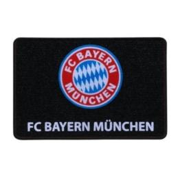 FC Bayern Müchen Fussmatte Türmatte schwarz Logo FCB -