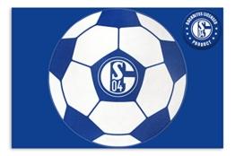 FC Schalke 04 Teppich Fußball - Fußmatte -