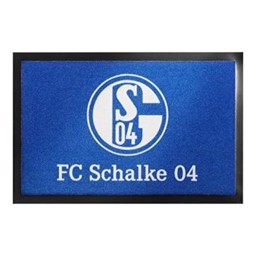 FC Schalke Fußmatte Logo 40x60cm -