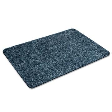 Floordirekt ECOGuard Schmutzfangmatte - Karat - blau, 60x100cm -