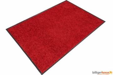 Fußmatte ASTRA Proper Tex Farbe: Rot, Größe: 90 cm x 150 cm -