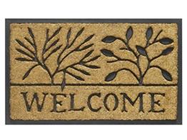 Fussmatte Bombay Welcome Leavers 45cm breit x 75cm lang Fussabtreter -