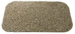 Gardman 82355 Machinenwasch Fußmatte, Baumwolle, beige, 50 x 75 x 1 cm -