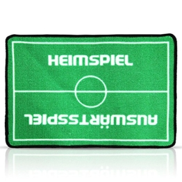 HC-Handel 914478 Fußmatte Fußabstreifer Fußball Heimspiel Auswärtsspiel 57 x 37 cm -