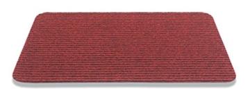 HMT Fußmatte aus Polypropylen, rot, 40 x 70 cm -