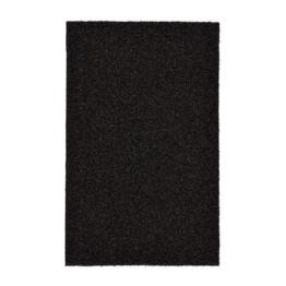 IKEA OPLEV Fußmatte in schwarz; für drinnen und draußen; (50x80 cm) -