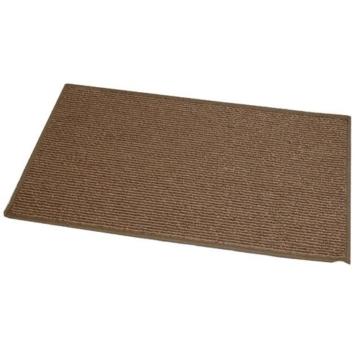 JVL Oxford Fußmatte, 40x70cm, maschinenwaschbar, ideal für die Eingangstür, Braun -