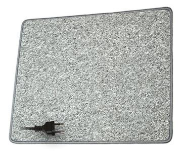 ProCar 25209000 Heizteppich 230 V 70 W 60 x 100 cm, Silber -