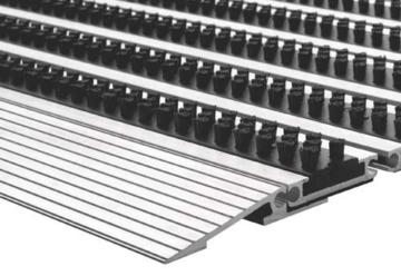 Repräsentative Fußmatte Profi Brush Slim, extraflache Ausführung -