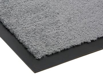 Schmutzfangmatte CANDY - Grau - 0,90m x 1,20m | 5 Größen | 100% Polypropylen | 2.710g/m² | Sauberlaufmatte | Türmatte | Fußmatte | Schmutzfangläufer | Sauberlaufteppich -