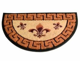 Siena Garden 337190 Gummimatte Jubilee, halbrund, 45x75cm -