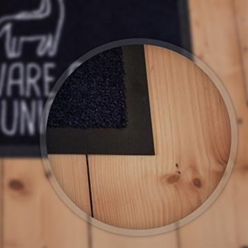 VISUAL STATEMENTS® hochwertige Fussmatte mit Spruch / Verschiedene Sprüche / PREMIUM Qualität / 60 x 40 cm / Starke Saugfähigkeit / Sichere Bodenhaftung / Waschmaschinenfest / Wine -