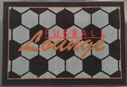 Waschbare Fußmatte - Fußball Lounge - ca 50 x 75 cm -