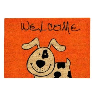 Xclou 274560 Kokosmatte Coco Fun 60 x 40 cm Hund -