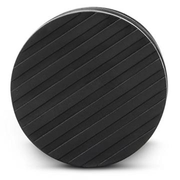 Relaxdays 10010080 Relaxdays Türstopper, Design extra hoch 1,1 kg, edelstahl -