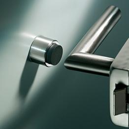 Wandtürstopper KERBEROS; D 30 mm, L 20 mm, gebürstet -
