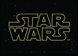 Star Wars SWD-78 Fußmatte, Poyamid, 50 x 70 x 0,4 cm, schwarz / gelb -